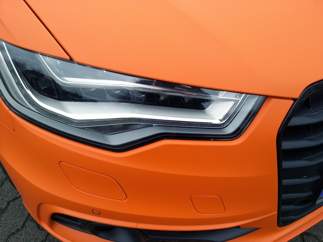 AUDI RS6 Vollverklebung in Orange Matt
